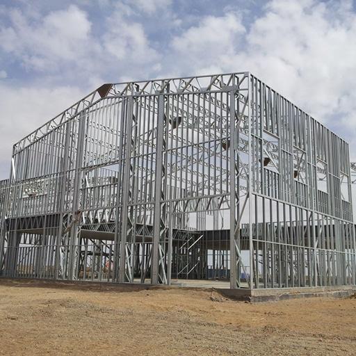 قاب های سرد نورد شده (LSF) سیستم ساختمانی LSF فناوری های نیک سیستم ساندویچ پانل ساختمان های نیمه پیش ساخته پانل های دیواری ساخته ساختمان های نیمه پیش ساخته مصالح فلزی