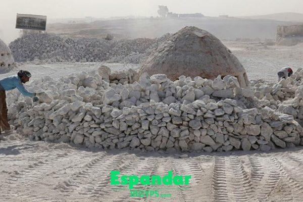 روش سنتی تولید گچ با کوره دستی